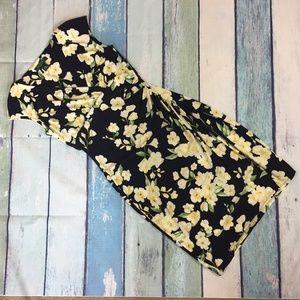 Ralph Lauren Navy Floral Dress 2